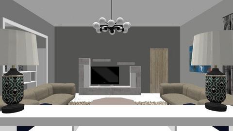 Formal living room - Modern - Living room  - by Odilz