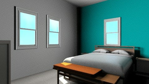 Chamberlain Guest Room - Retro - by JenniferLewi