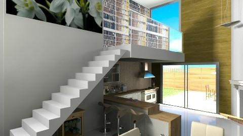 7 - Modern - Kitchen  - by binkie007