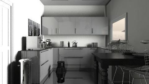 Mini kitchen - Modern - Kitchen  - by josephinesw