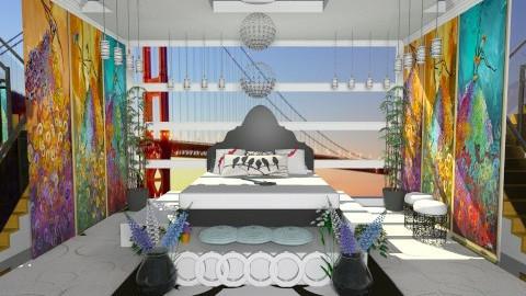 ART - Glamour - Bedroom  - by abhishek7777