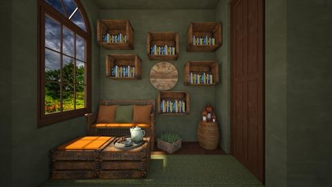 library - Office  - by daydreamer84
