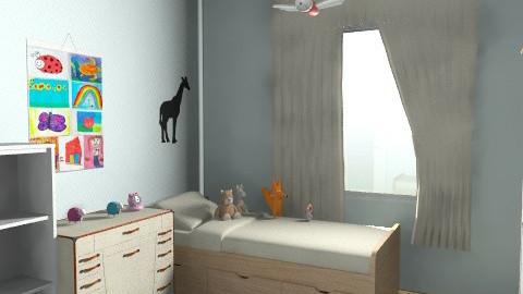 Cili76 2 Gyerek szobája 1 - Minimal - Kids room  - by Vargn Nagy Ceclia
