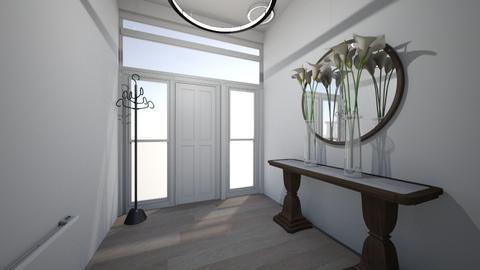hallway - Modern - by pigsfordays