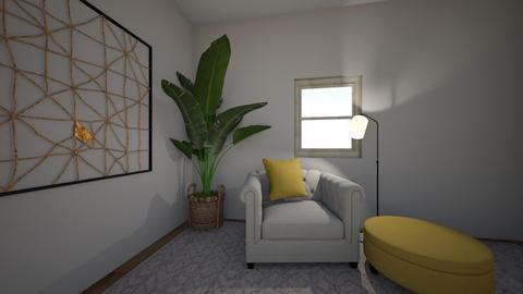 Lemon room  - Living room  - by goodemma