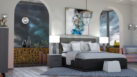 M_ Stormy day - Bedroom  - by milyca8