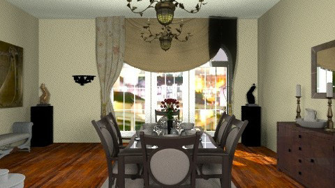 The Pinch of the Game - Classic - Dining room  - by PennyDreadful