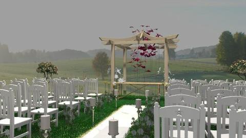 casamento Re e Di2 - Classic - Garden  - by marilentz