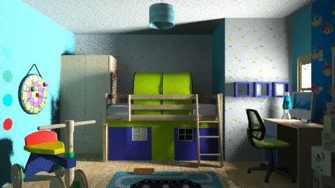 Boys room - Modern - Kids room  - by slavica86
