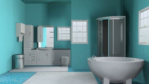 Betty Real - Eclectic - Bathroom  - by Mary Lee