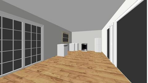 Kitchen and Living Room 2 - Kitchen  - by DeBoXtremo