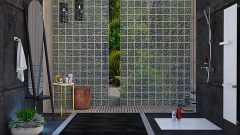M_Bathroom black - Bathroom  - by milyca8
