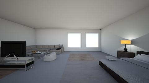 my kinda dream room - Modern - Bedroom  - by saudalqassimi2