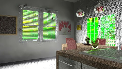 kitchen 002g - Eclectic - Kitchen  - by Yellow Moon Design