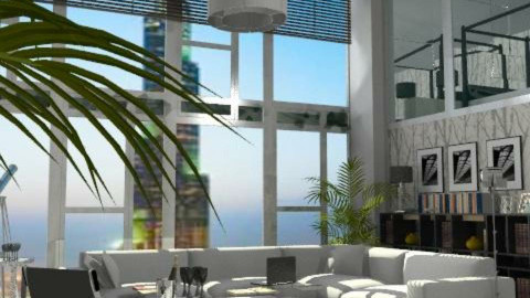 Burj View, - Modern - Living room - by AlSudairy S