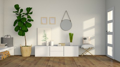 Scandinavian Simplicity - Minimal - Living room - by deleted_1587966089_ArcticMoon