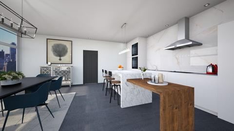 Penthouse Kitchen - Kitchen  - by heyfeyt