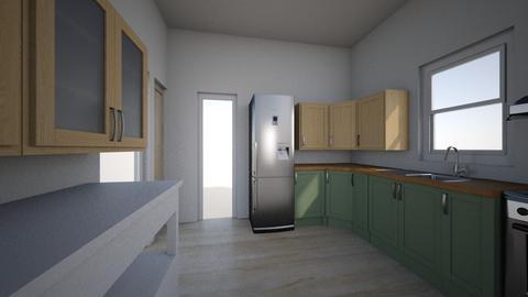 New Kitchen Layout  3 - Modern - Kitchen  - by Northernandnoted