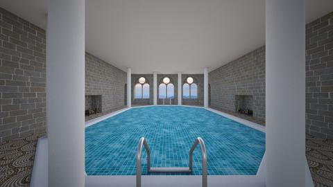 Indoor Pool - by SammyJPili