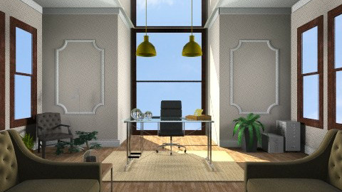 Boss office - Eclectic - Office  - by cready