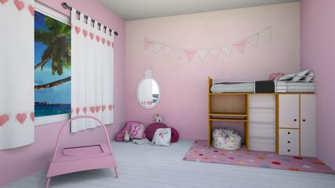 Tickled Pink - Kids room - by beach2019