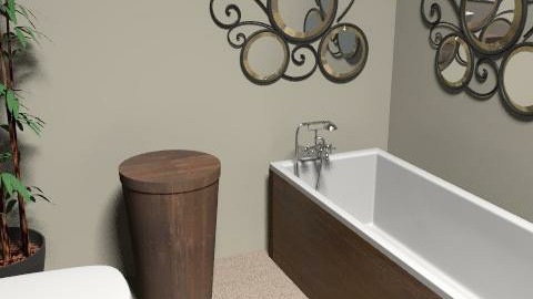 bathroom view 3 - Eclectic - Bathroom  - by mowergirl1