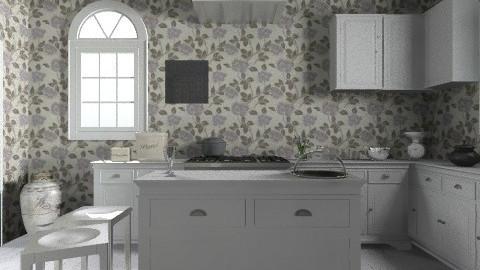 flowerkitchen - Vintage - Kitchen - by ahlorrben