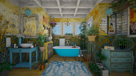La Boheme - Eclectic - Bathroom  - by starsector