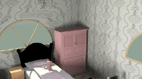 beths room - Glamour - Kids room - by Tom Chapman