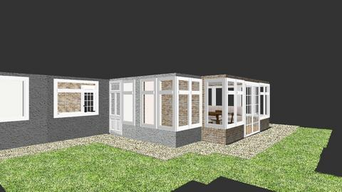 Longton Extension Outside - Garden - by ray_ainsworth