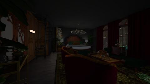Gatso - Glamour - Bedroom  - by Flora Meraki