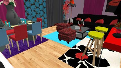 saloni - Living room  - by erofili