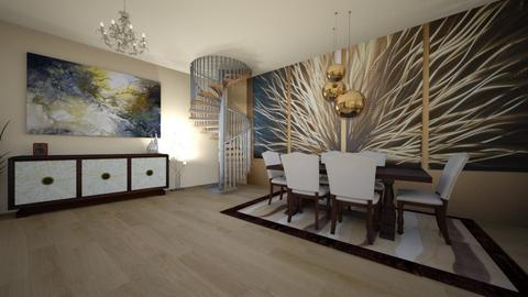 Art deco  2 - Living room - by Patricia_M