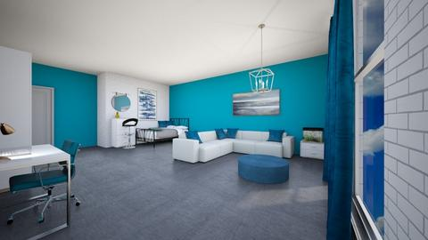 My new bedroom forWensday - Bedroom  - by Noa Jones
