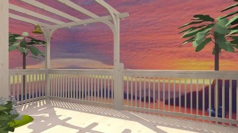 tropical Deck - Classic - Garden  - by Shelley0514