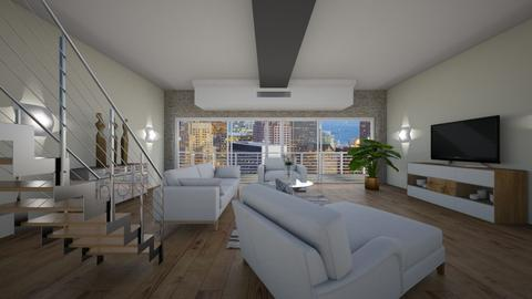 R3 - Modern - Living room - by Saj Trinaest