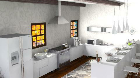 first kitchen - Classic - Kitchen  - by Cejovic Andrijana