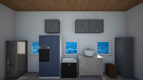 Ocean Kitchen - Kitchen  - by ashishereforfun