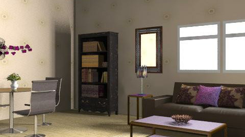 purple vision - Glamour - Living room - by MagnifiquE