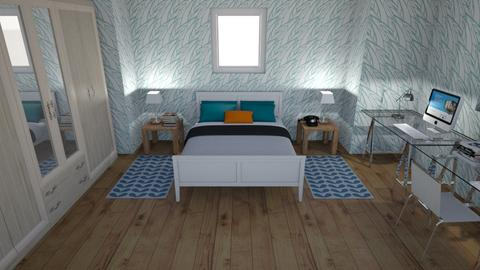 Coolest Bedroom - Bedroom  - by Adogworld