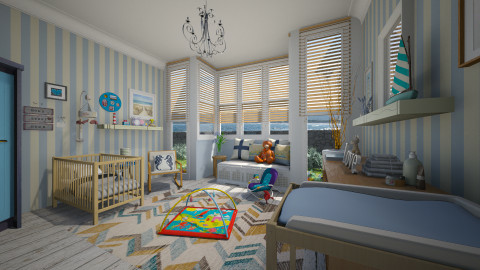 Baby Boy - Masculine - Kids room  - by giulygi