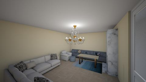 Entertainment room - Modern - Living room  - by Pizzahomestyler