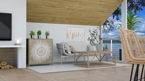 Slope - Living room  - by weinsteinfam