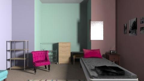 My room - Vintage - Bedroom  - by LaurenRHill
