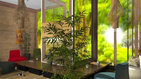 Teien veiw (cajual?) other - Retro - Living room  - by Kjami