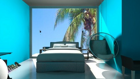 Future bedroom - Modern - Bedroom - by conrad3120