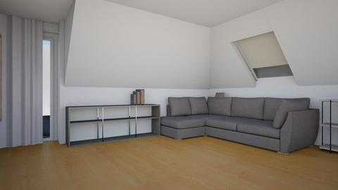 Living_6 - Modern - Living room  - by Ollya2307