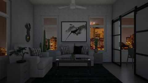 Two Room Contest - Living room  - by Chrispow0105