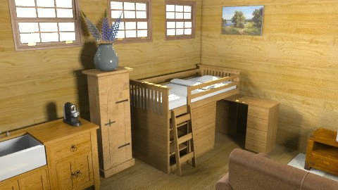 cabin - Rustic - by smw0196