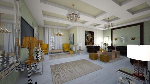 Living _Glam_Interior_ - Modern - Office - by Nikos Tsokos